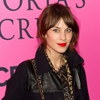 Alexa Chung glams up for Victoria's Secret