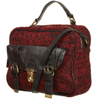 BAG LOVE: Topshop's red boucle satchel
