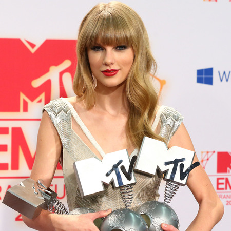 Taylor Swift at the MTV EMAs 2012