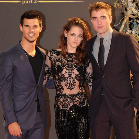 Kristen Stewart stuns with second lace Zuhair Murad style for Twilight London premiere