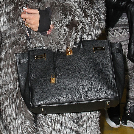 Spotted! Rita Ora's Herms Birkin