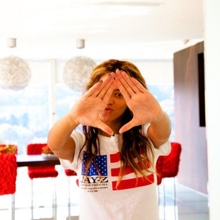 Beyonce gets patriotic