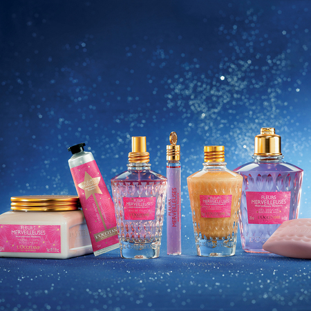 L'Occitane limited edition Marvellous Flowers Collection