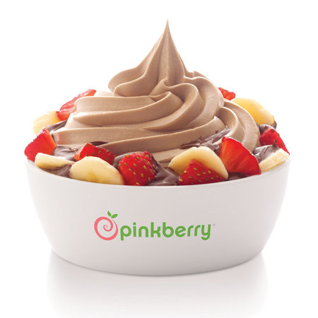 Pinkberry hazelnut chocolate trio