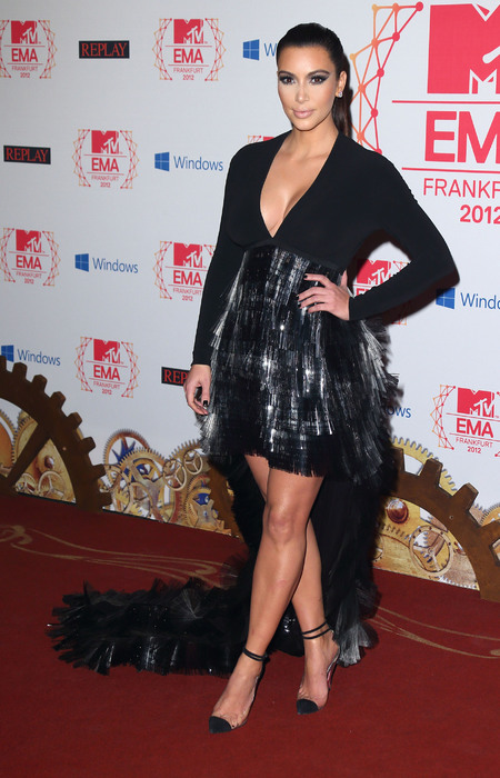 YAY OR NAY: Kim Kardashian's gothic style at MTV EMAs