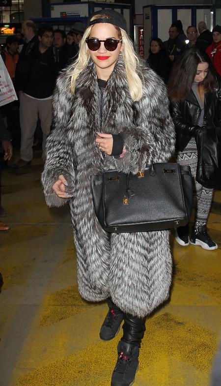 Spotted! Rita Ora's Hermés Birkin