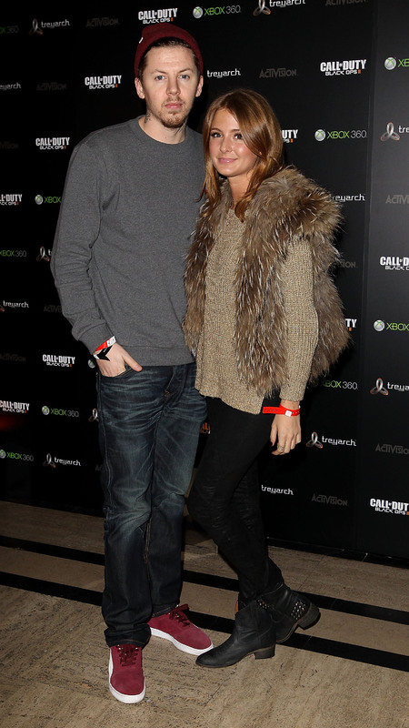 Millie Mackintosh does AW layers at Xbox launch with Professor Green