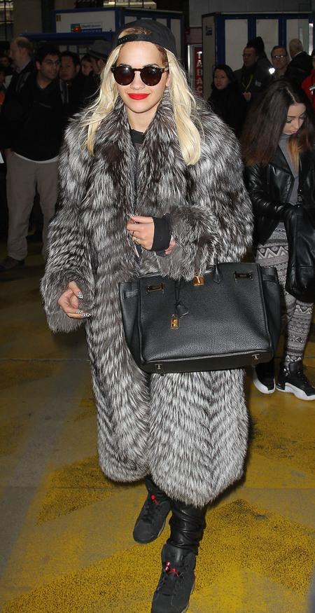 Rita Ora's Hermes Birkin bag