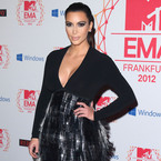 YAY OR NAY: Kim Kardashian's gothic style at MTV EMAs