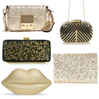 BAG TREND: Sparkling gold and shiny metallics