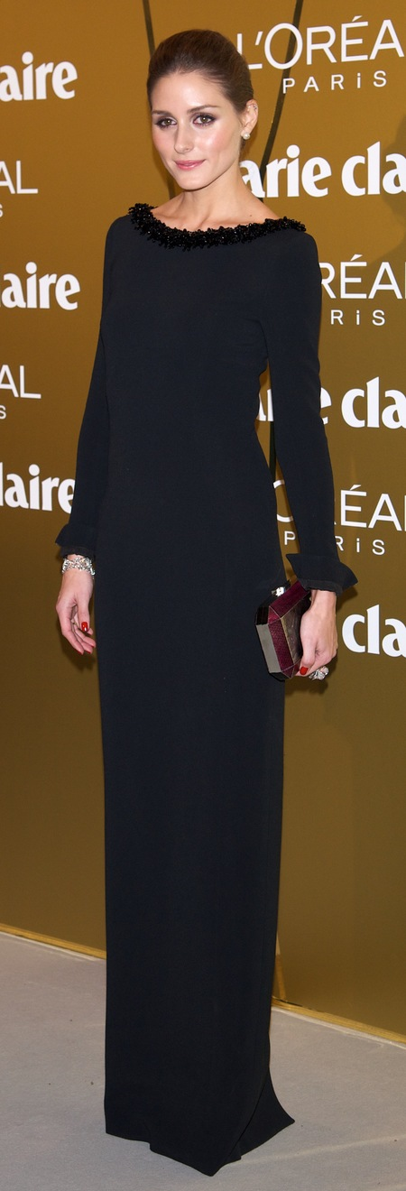 Olivia Palermo's sexy black number