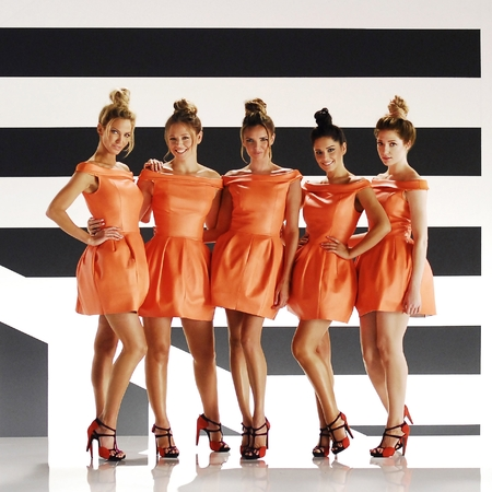 Girls Aloud - Something New video shoot