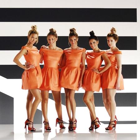 Girls Aloud - Something New video shoot