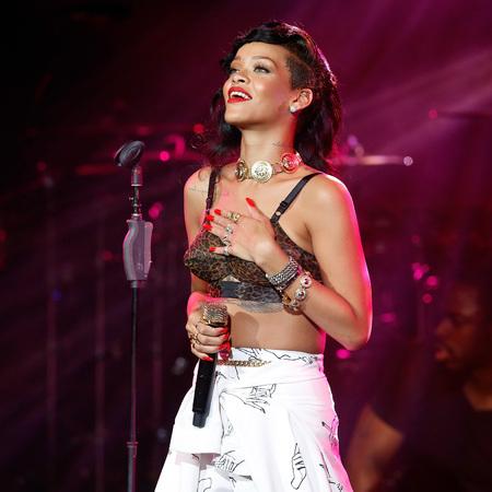Rihanna 777 London gig
