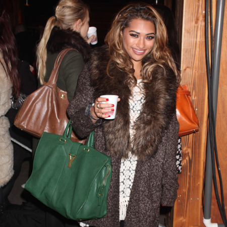 Vanessa White at winter wonderland