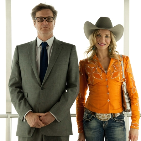 Colin Firth and Cameron Diaz in Gambit