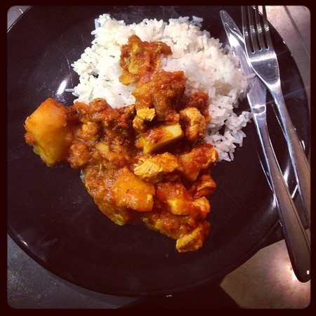 Jessie J Chicken Curry Tweet