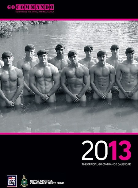 Royal Marines calender