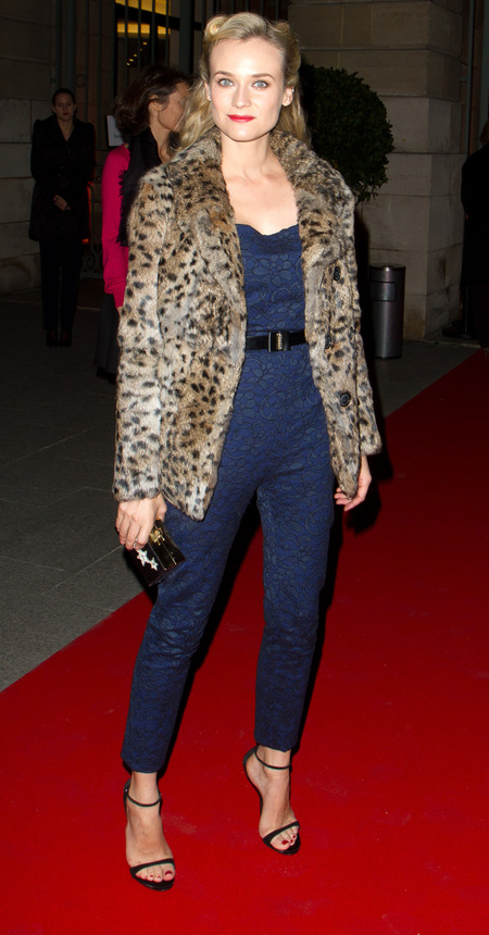 Diane Kruger in Jason Wu at Jaeger-LeCoultre Place Vendome Boutique Opening