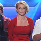 Britney Spears wows in red on X Factor USA