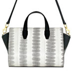BAG LOVE: White Pelican snake print satchel