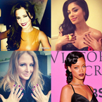 CELEBRITY TREND: Berry lips and nails
