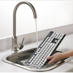 Finally! A washable keyboard for clumsy girls