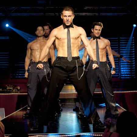 Magic Mike film still - Channing Tatum topless pics - muscles - chest- abs - celebrity workouts - handbag.com