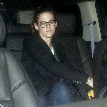 Kristen Stewart does specs chic in New York