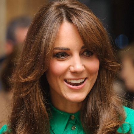 Kate Middleton debuts new fringe at Natural History Museum