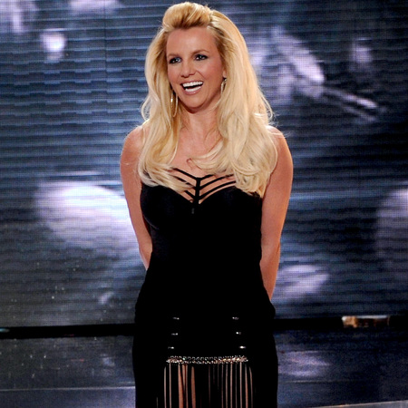 Britney Spears on US X Factor 2012