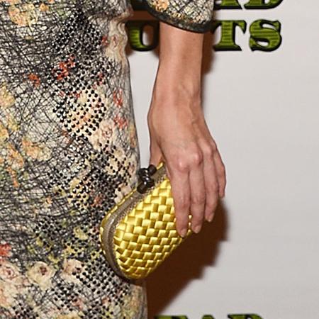 Katie Holmes in Bottega Veneta SS13
