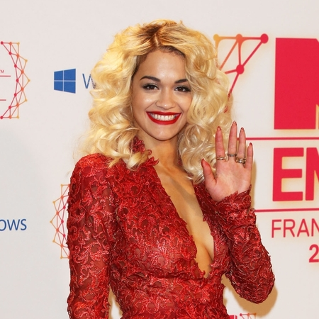Rita Ora at EMAs 2012