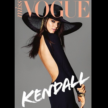 Kim K's sister Kendall Jenner turns covergirl for Australian Miss Vogue - fashion magazine cover shoot - Kardashian news - handbag.com
