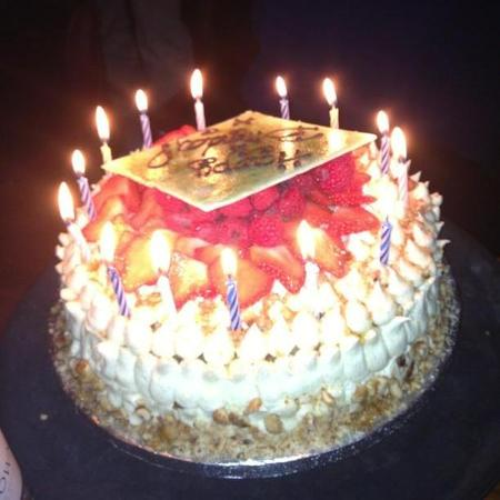Tasty Tweets Millie Mackintosh Birthday Cake
