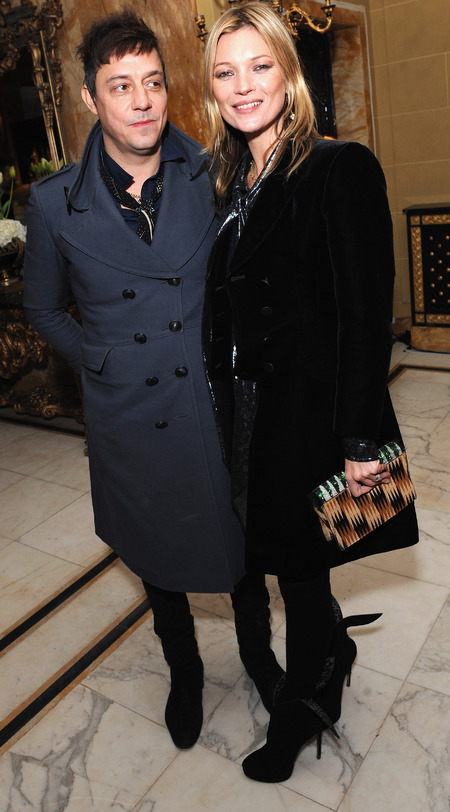 Kate Moss and Jamie Hince at Miu Miu London party