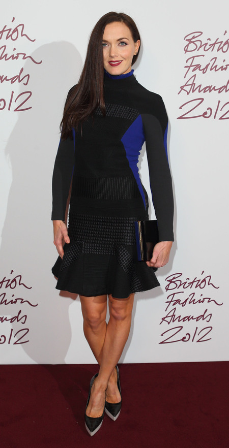 Victoria Pendleton hits the British Fashion Awards in Stella McCartney