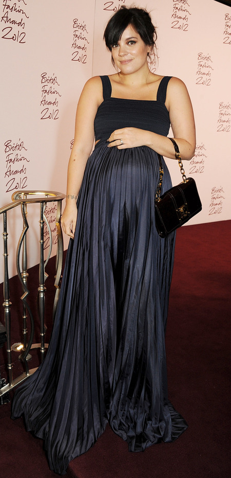 Lily Cooper at 2012 British Fashion Awards