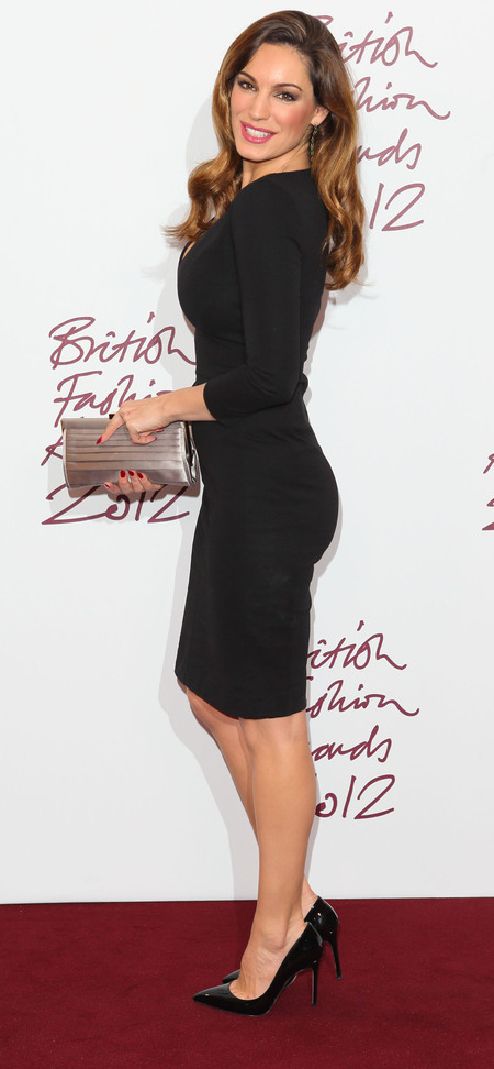 Kelly Brook in Stella McCartney at 2012 British Fashion Awards