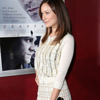 Olivia Wilde works white and gold L'Wren Scott