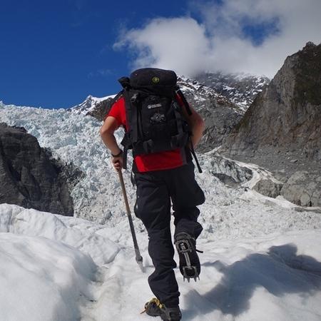 Glacier hiking New Zealand