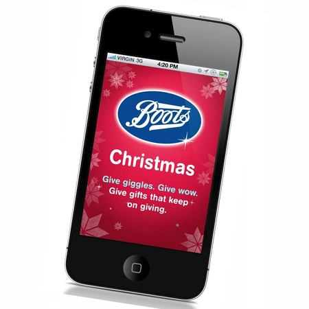 Boots UK introduce Christmas shopping app
