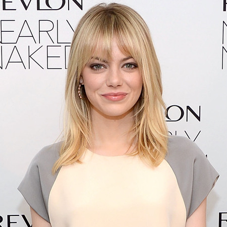 Emma Stone is fresh-faced at Revlon Launch