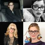 CELEBRITY TREND: Geek chic glasses