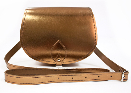 BAG LOVE: Zatchels Metallic bag at Motel