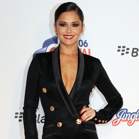 Cheryl Cole does plunging Balmain tux for Jingle Bell Ball