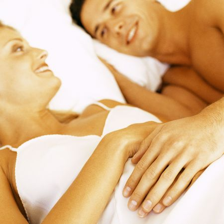 sex tip of the day, couple, bed, sex