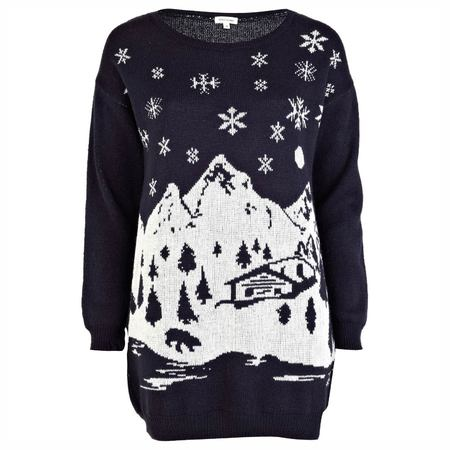 12 days of Christmas knits: River Island's ski print