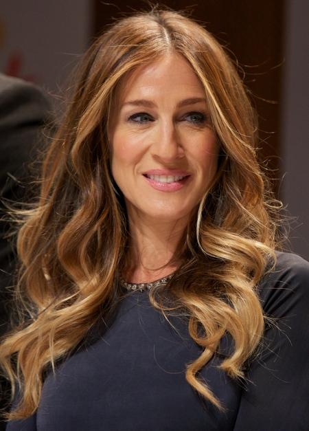 Sarah Jessica Parker at Nobel Peace Prize Concert press conference in Oslo