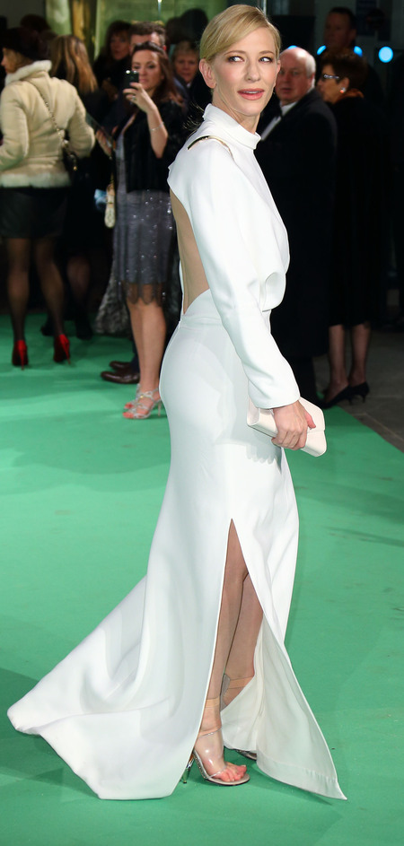 Cate Blanchette in Givenchy at The Hobbit Royal premiere